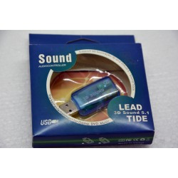 USB مخرج صوت مزدوج