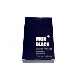 عطر رجالي MON  BLACK حجم 100 م