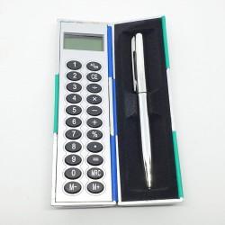 الة حاسبه مع قلم صغيرة